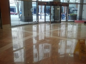Marble Tile and Grout Cleaning, 3 step Polishing