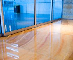 Floor Waxing Stripping