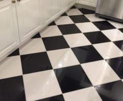 Residential Floor Stripping Waxing